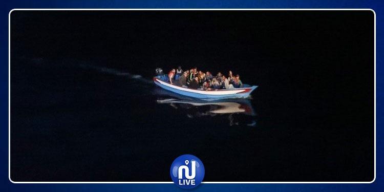 فجر اليوم: إنقاذ 15 شابا من الغرق إثر محاولتهم ''الحرقة''