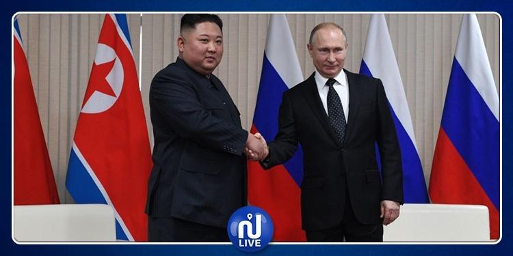 انطلاق القمة التاريخية بين بوتين وكيم