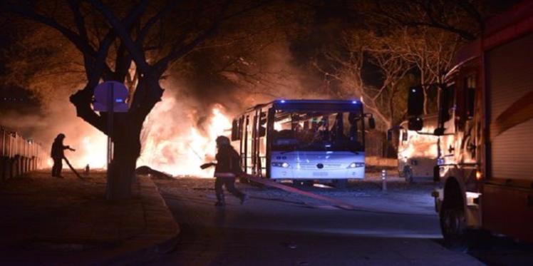 تركيا : مقتل 18 أشخاص في  انفجار وسط العاصمة أنقرة