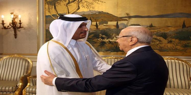 وزير خارجية قطر يتعهد بدعم الصندوق الوطني لمكافحة الإرهاب