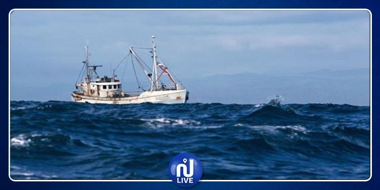 Naufrage d'un bateau de pêche à Mahdia