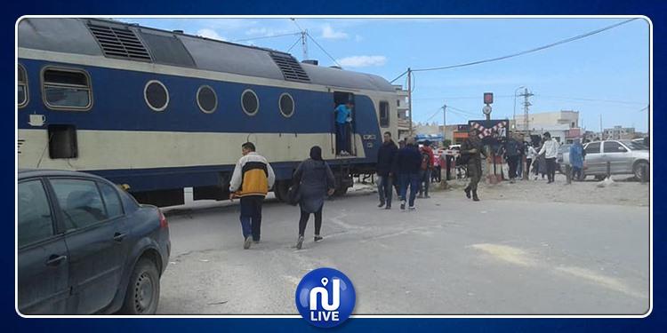 بنعروس: خروج القطار عن السكة