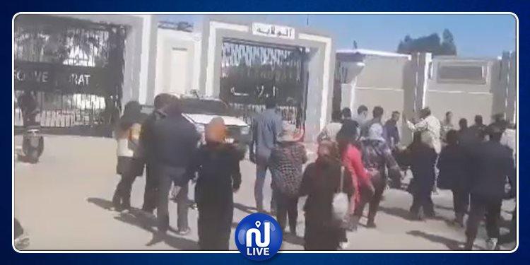 القيروان: إيقاف محتجين من 'شباب الأغالبة' (فيديو)