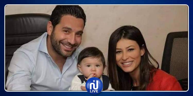 إبنة ريم السعيدي تقلد والدها (فيديو)