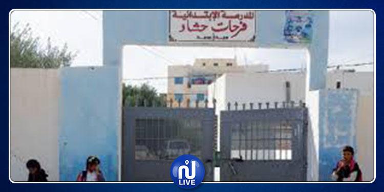 سيدي بوزيد: تعطل الدروس بالمدرسة الابتدائية فرحات حشاد