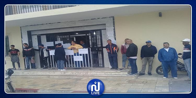 بلدية القصرين: أعوان الآلية 16 يدخلون في اعتصام مفتوح