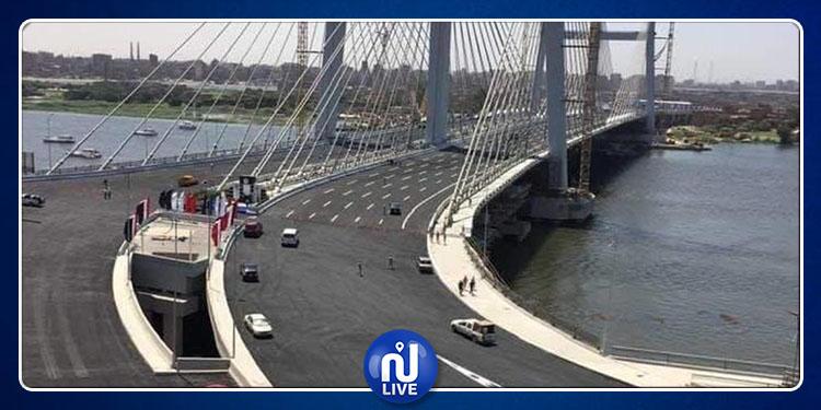 'غينيس'' ...مصر تمتلك أعرض جسر معلق في العالم