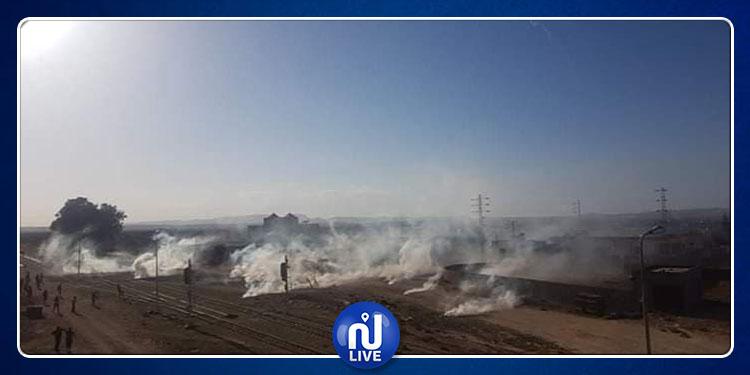 سيدي بوزيد: تجدد المواجهات بين الأمن ومحتجّين في منزل بوزيان