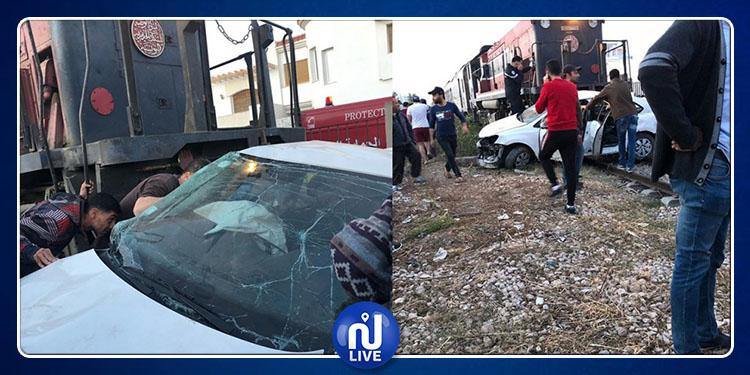 وزارة النقل:تكوين لجنة تحقيق في حادث اصطدام القطار بسيارة في صفاقس