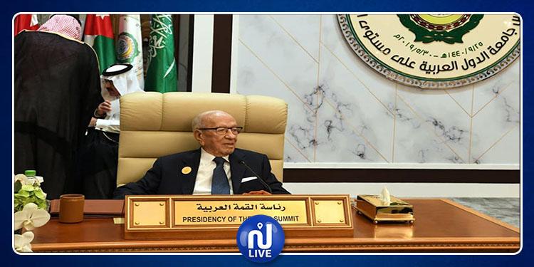 رئيس الجمهورية : ندين ونرفض استهداف المدن الآمنة في السعودية (فيديو)