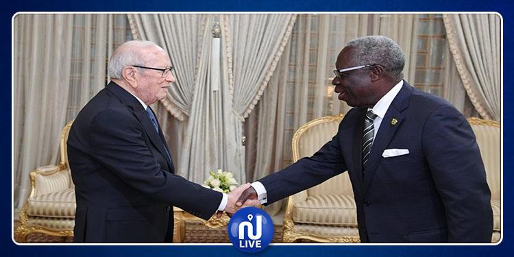 رئيس الجمهورية يتسلّم رسالة مكتوبة من الرئيس الغاني