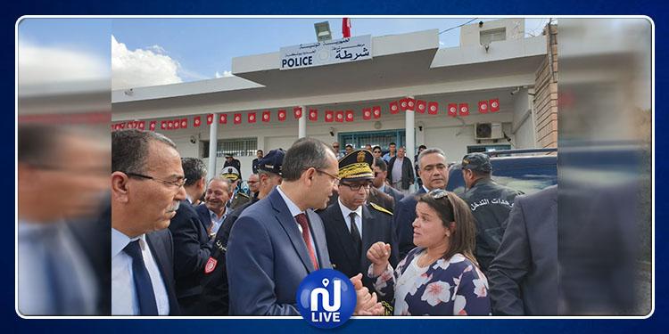 وزير الداخلية يطلع على ظروف عمل الوحدات الأمنية ببوشبكة
