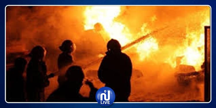 سليانة: إخماد حريق نشب بحوالي 8 هكتارات من الحصيدة