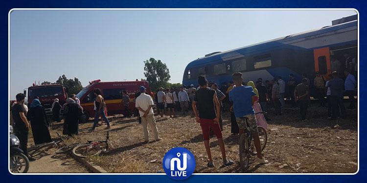 Jendouba : Une personne percutée par un train
