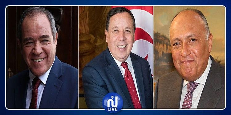 Libye : 6e réunion des ministres des AE tunisien, algérien et égyptien