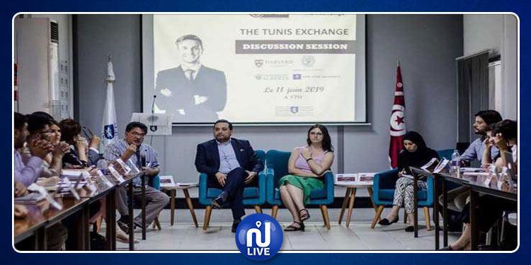 Les étudiants de Sciences Po Tunis dans la cour des grands