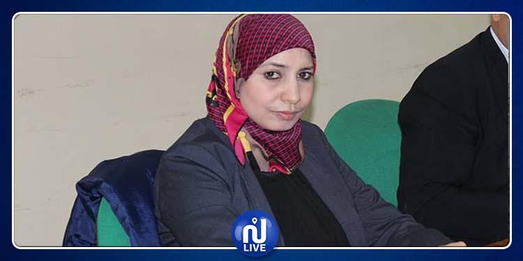 النائب سناء المرسني:  زوجي أوقف عن عمله بسبب معارضتي لرخصة برج الخضراء