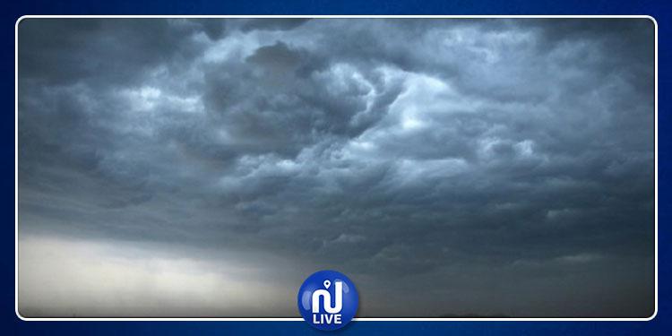 بداية من اللّيلة : رياح قوية وأمطار رعديّة