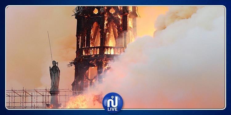 نتائج التحقيقات الأولية لحريق كنيسة نوتردام