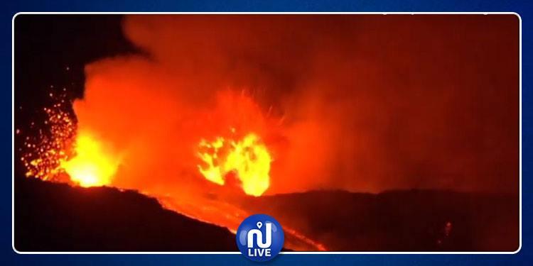 Le volcan sicilien, l'Etna entre en éruption…