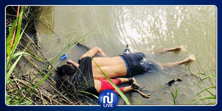 USA : Photo choquante d'un migrant et de sa fille de 2 ans morts noyés