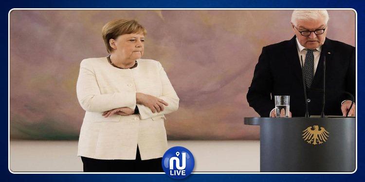Angela Merkel de nouveau prise de tremblements…Serait-elle souffrante ?