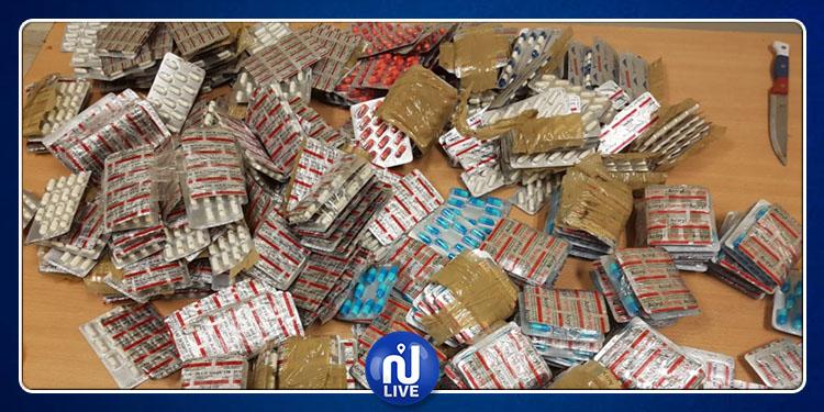 مطار قرطاج:إحباط عمليات تهريب نوعية لمخدرات وأدوية وعملة أجنبية (صور)