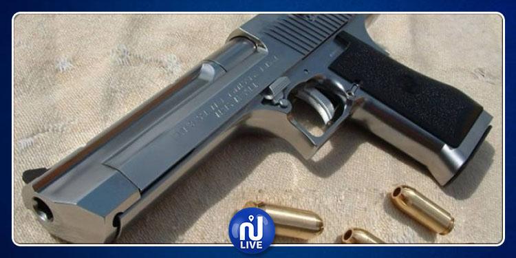 منوبة : ضبط مسدس قديم و3 طلقات نارية لدى مواطن بالبطان