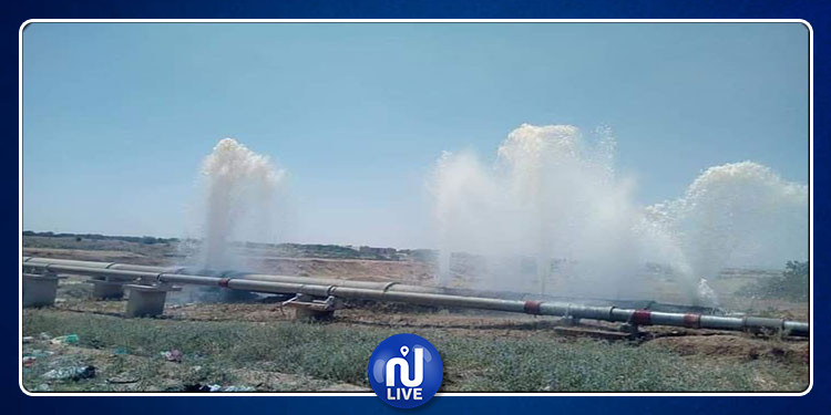 وزارة الفلاحة: رفع شكاية ضد المسؤولين عن الإعتداء على قناة جلب مياه جلمة