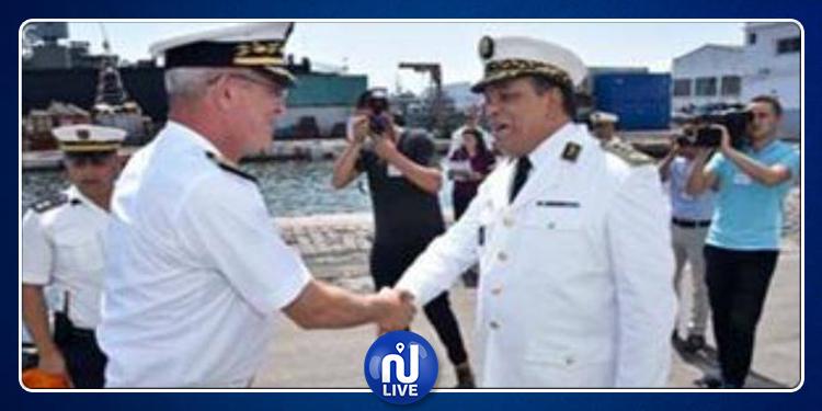 Le voilier-école de la Marine algérienne ''El Mellah'' accoste au port de la Goulette