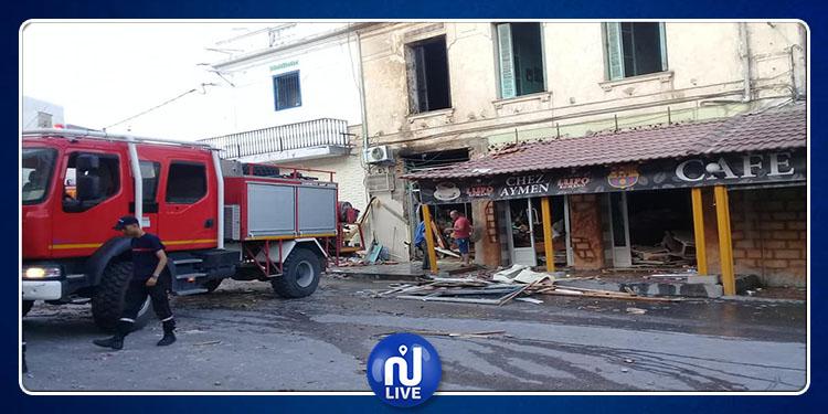 ماطر: انفجار في محل مصاغة يودي بحياة عامل في مقهى مجاور