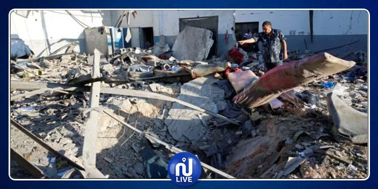 ليبيا: مقتل 40 وإصابة 80 في ضربة جوية على مركز احتجاز للمهاجرين
