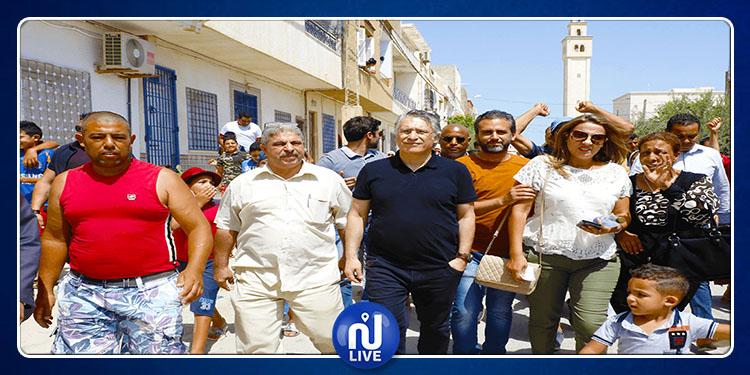نابل: افتتاح مقر المكتب الجهوي لحزب قلب تونس (فيديو)