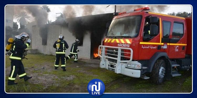 صفاقس : اندلاع حريق مصنع وإصابة 8 عمال