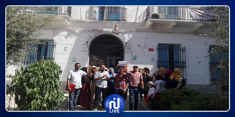 الأساتذة النوّاب يحتجون للمطالبة بتسوية وضعيتهم (صور)