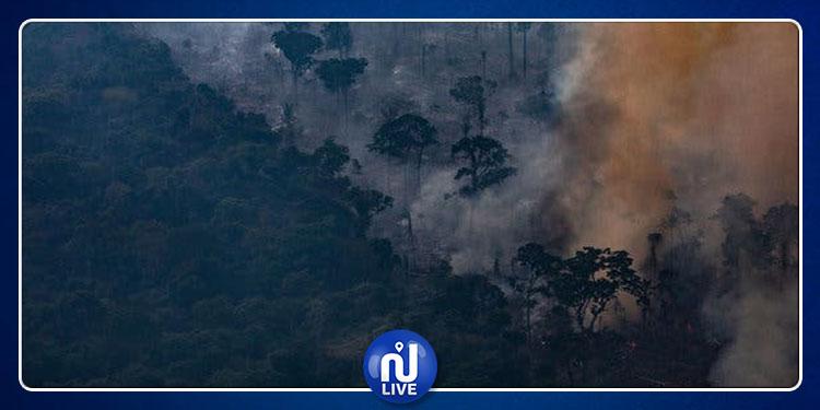 البرازيل ترفض مساعدة مجموعة السبع لإخماد حرائق الأمازون