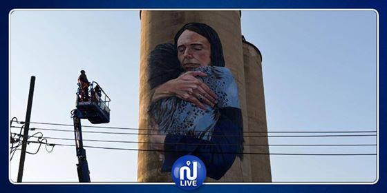 A Melbourne, une peinture qui immortalise un moment de compassion