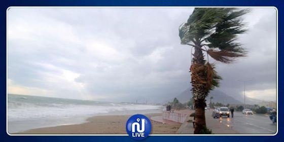La météo de ce mercredi: Vents forts jusqu'à 90 km/h