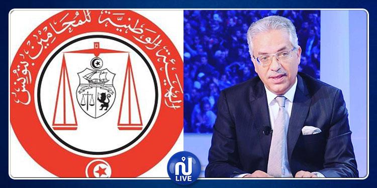 Omar Mansour, candidat au Barreau de Tunis