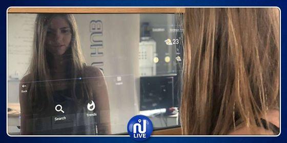uReflect, le premier miroir connecté à écran tactile