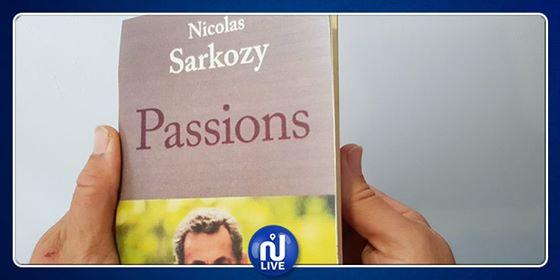 Nicolas Sarkozy sort son nouveau livre ''Passions''