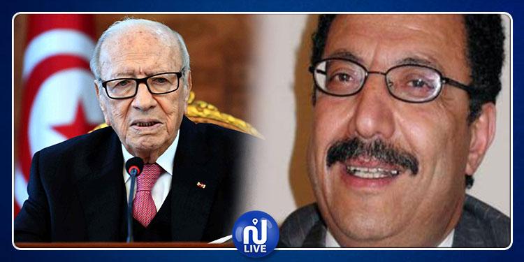 Béji Caïd Essebsi félicite le bâtonnier de l'ordre des avocats