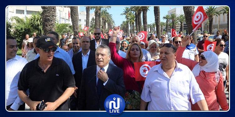 Le président de ''9alb Tounes'' et candidat à la présidentielle devant le  Pôle judiciaire et financier