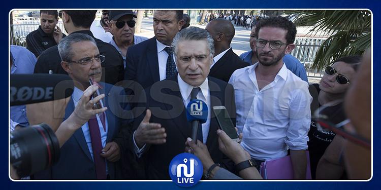 Nabil Karoui devant le Pole judiciaire et financier, pour achèvement de l'audition