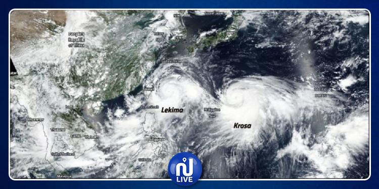Le japon se prépare à accueillir le cyclone Krosa