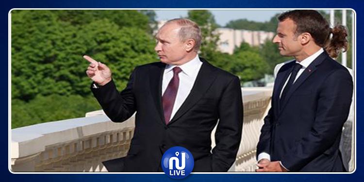 Macron invite Poutine à sa résidence d'été