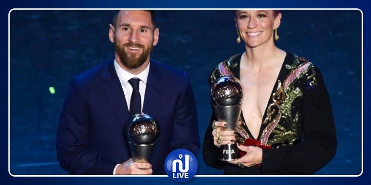 Best FIFA Football Awards: Messi meilleur joueur de l'année