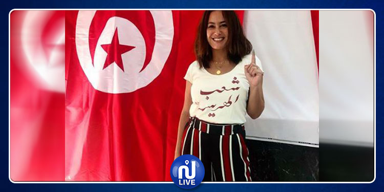 Hend Sabri accomplit son devoir électoral, en Egypte (photo)