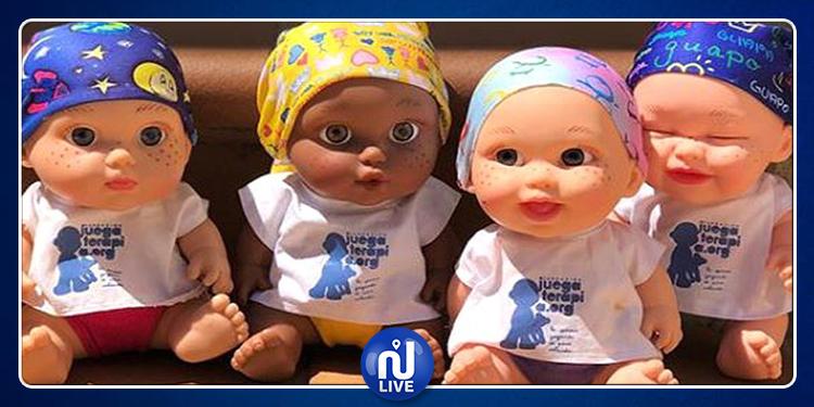 Cancer-enfants : Ces poupées qui les font sourire…