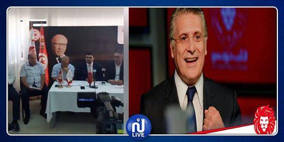 Nidaa Tounes appelle à la libération de Nabil Karoui (vidéo)